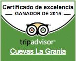 Certificado de excelencia 2015 tripadvisor
