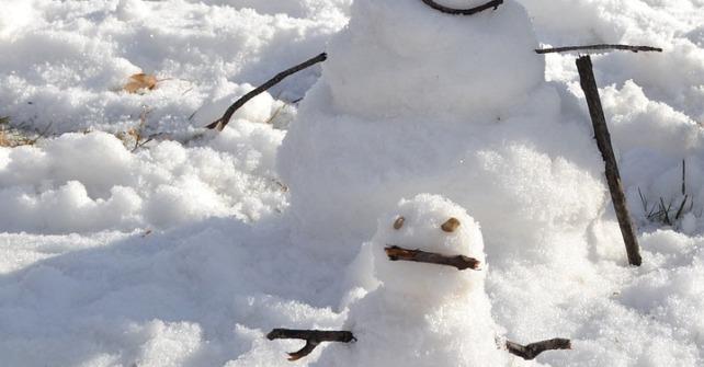 Juegos en la nieve para niños