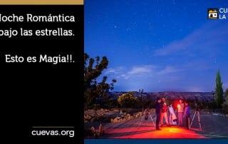 Noche romántica bajo las estrellas