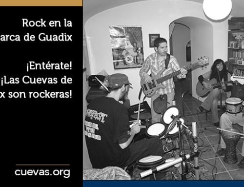 Rock en la Comarca de Guadix ¡Entérate! ¡Las Cuevas de Guadix son rockeras!