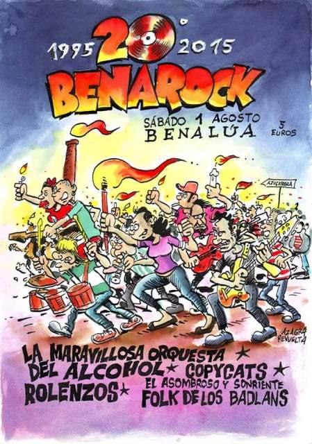 Festival Benarock 20