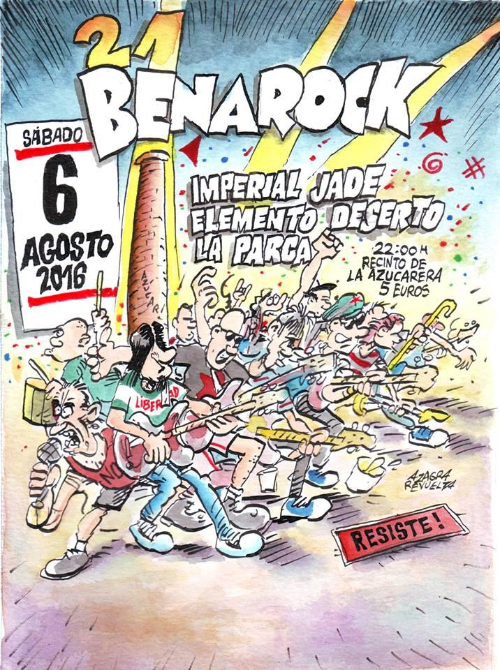 Festival Benarock 21
