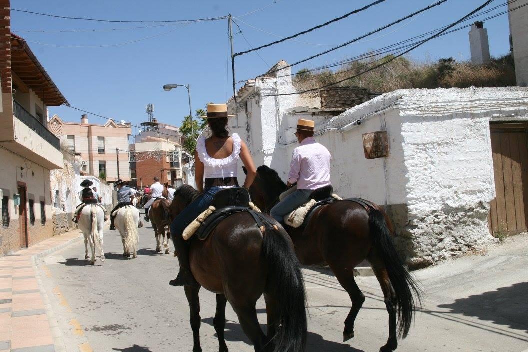 fiestas Benalúa paseo caballo