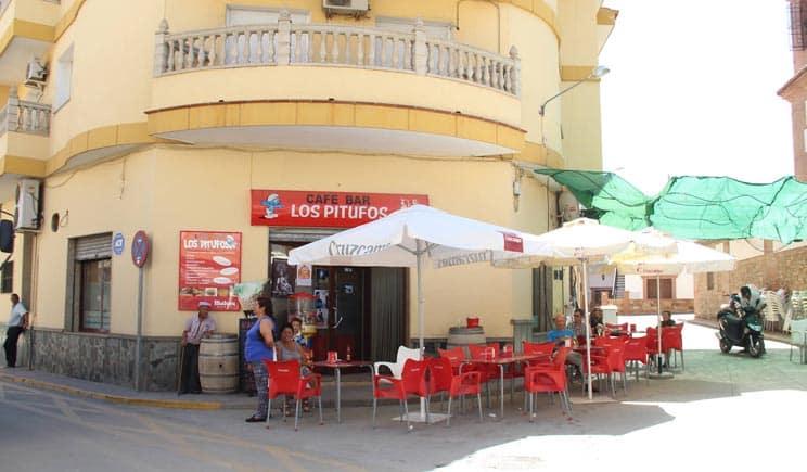 Fiestas Benalúa terraza bar