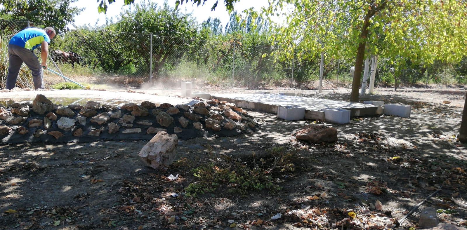 Cimentacion hide de Cuevas La Granja