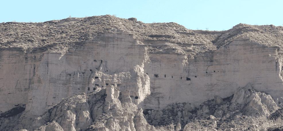 Mirador del centro de interpretación del Megalitismo en Gorafe